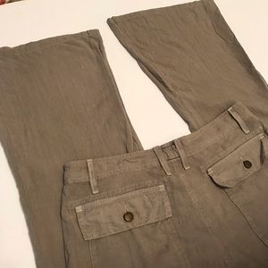 Current/Elliott Pants - Current/Elliot The Wide Leg Army Pant Sz 27-0